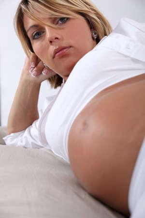 tried: Pregnant woman