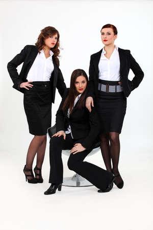 Tres empresarias seductoras