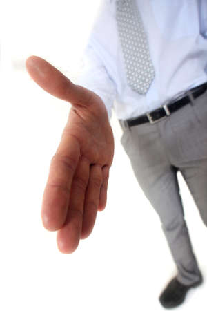 Man handing out hand Stock Photo - 15793840