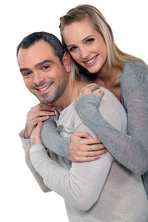 honest: couple portrait Stock Photo