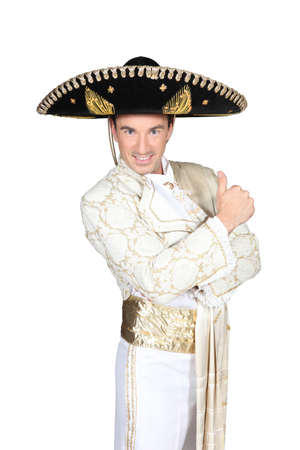fancy dress party: Man dressed in matador outfit