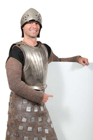 Man in knight Stock Photo - 15807153