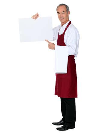 experienced: Experienced Waiter Stock Photo