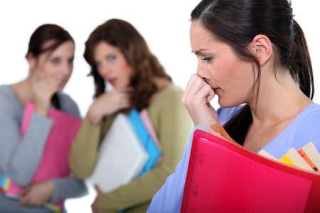 Women criticizing woman