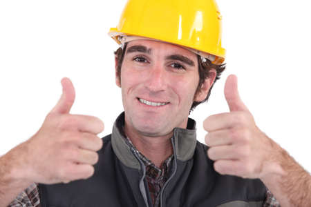 craftsman, thumbs up photo