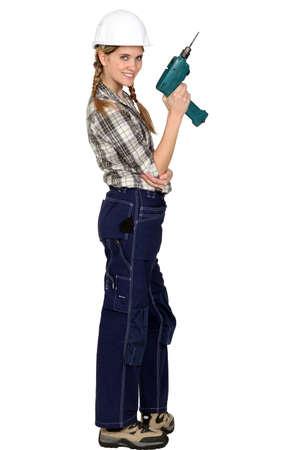 enthusiast: Female DIY enthusiast