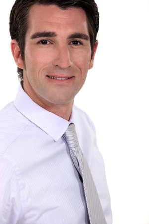 Profile shot of businessman Stock Photo - 15857433