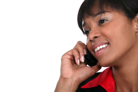 African American businesswoman Stock Photo - 15854402