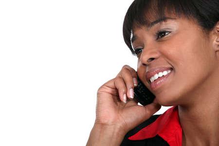 African American businesswoman Stock Photo - 15854402