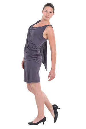 loose fitting: Full-length portrait of a dancer Stock Photo
