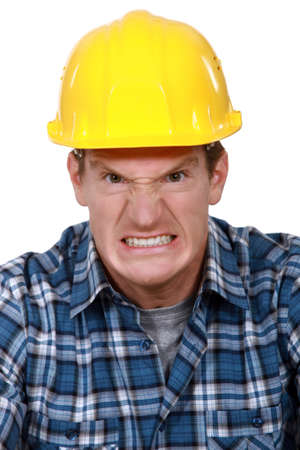 business disagreement: Angry builder