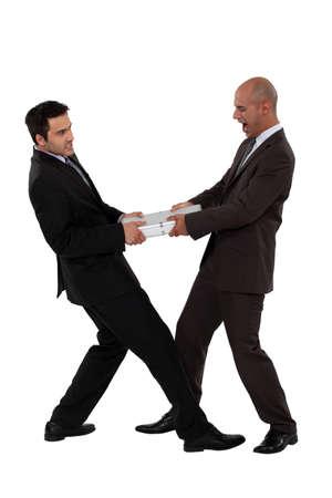 Businessmen arguing, studio shot Stock Photo - 15915513