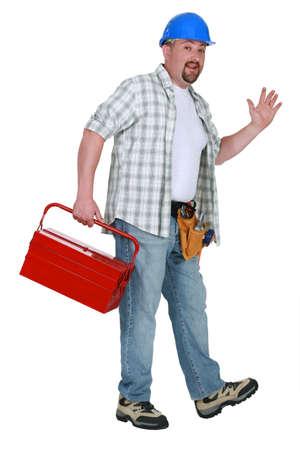 troubleshooting: Tradesman a casa para el día