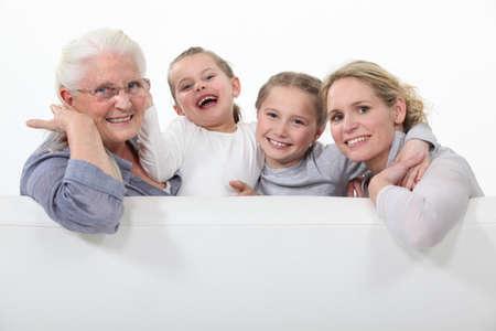 Three generations of women Stock Photo - 15915960