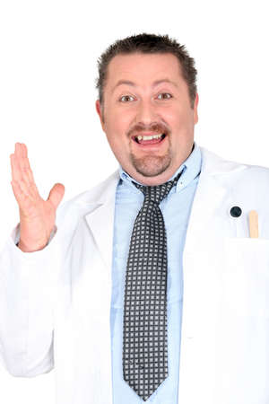 Funny doctor Stock Photo - 15916243