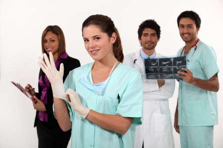 Doctors and nurses photo