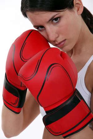 resolved: Female boxer