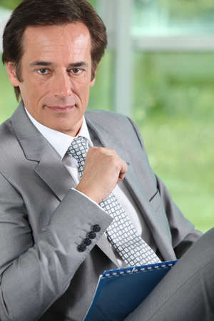 determined: Determined businessman  Stock Photo