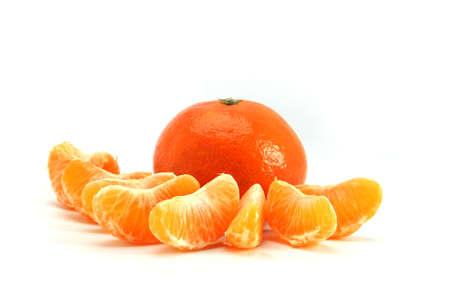 Orange segments Stock Photo - 16111285