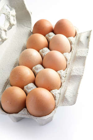 Dozen eggs photo