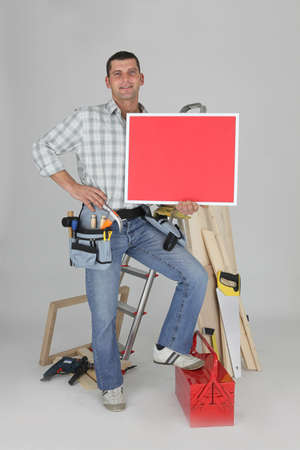 Carpenter advertising services photo