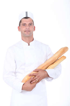 portrait of a baker photo