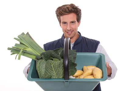 comestible: portrait of a gardener