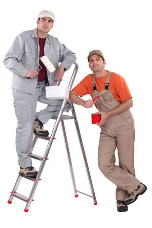 Two painters. photo