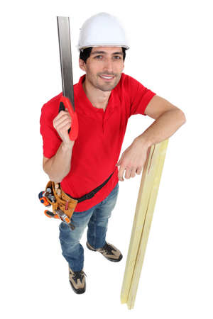 ie: Carpenter with Saw
