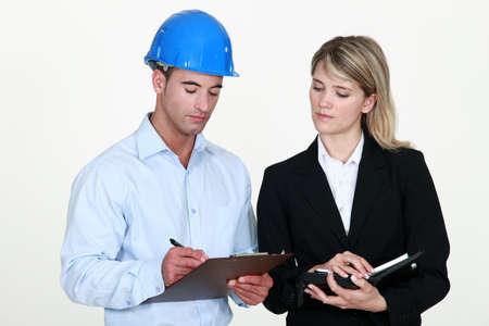 Una pareja de arquitectos