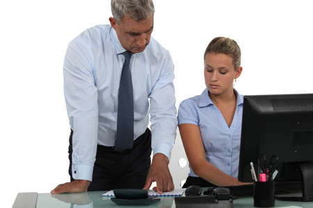 councilor: Businessman at his assistant