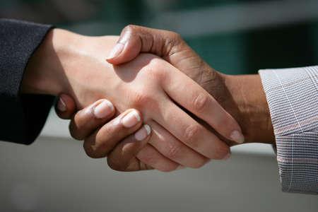 shaking hands business: Handshake