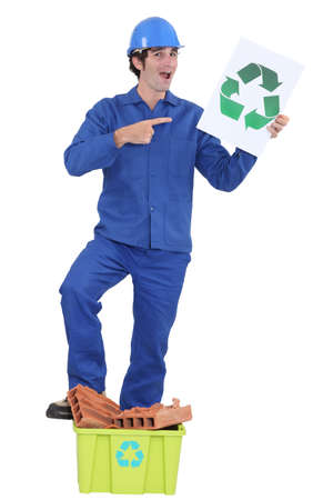 Recycle construction materials Stock Photo - 16190415