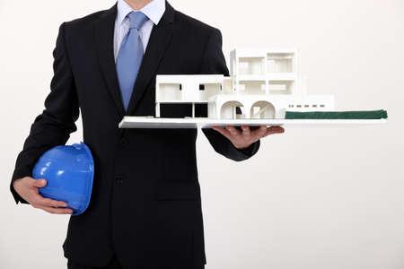 condominium complex: Designer with model house