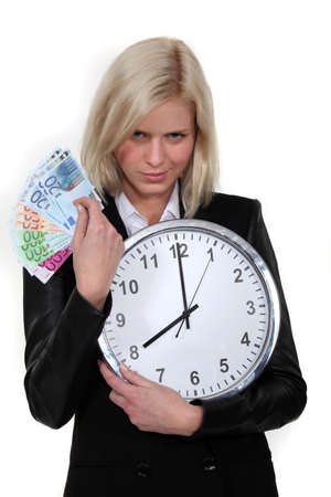 Time is money Stock Photo - 16191185