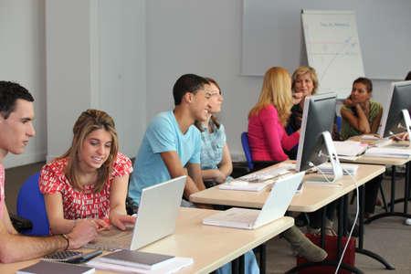 computer class: University computer class