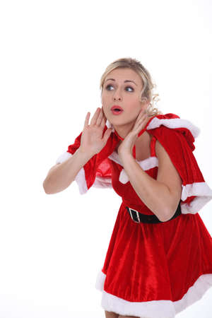 mrs claus: Mrs Claus Stock Photo