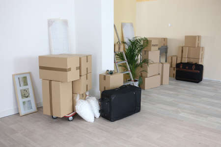 inside the house: Moving house