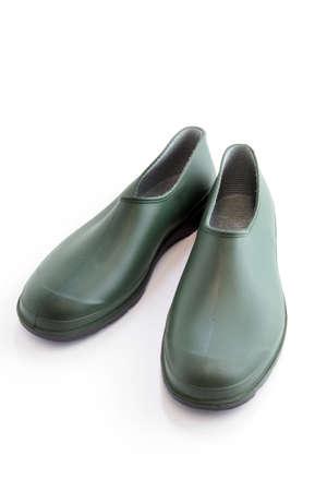 rubbery: Shoe version of wellingtons Stock Photo