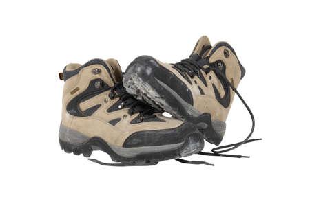 ranger: Walking boots Stock Photo