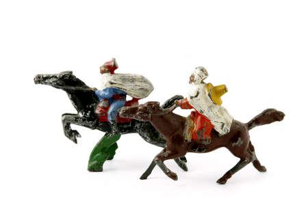 plains indian: Toy horses