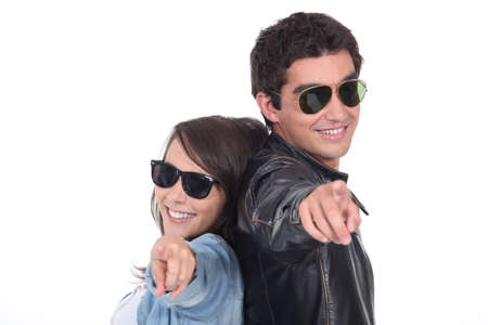 verve: Teen with sunglasses
