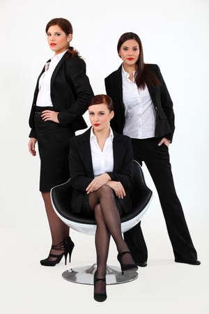 A team of businesswomen Stock Photo