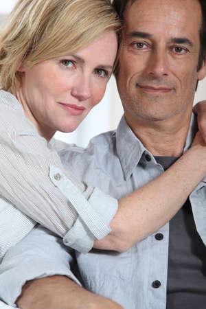 portrait of a couple Stock Photo - 16411209