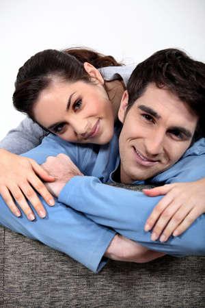 Loving couple Stock Photo - 16411247