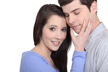 faithful: Affectionate young couple