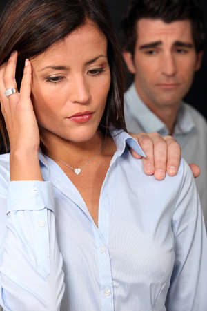 Couple argument Stock Photo - 16411227