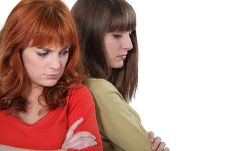 Women angry with each other Stock Photo - 16411420