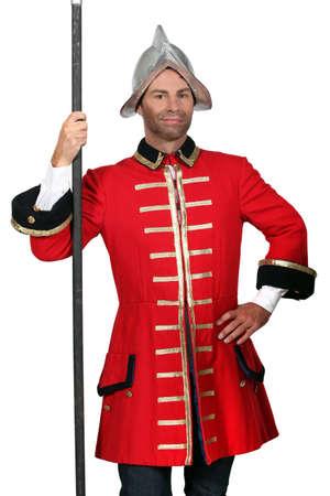 face guard: Palace guard