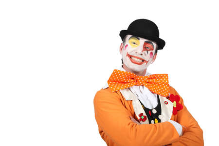 clown cirque: Clown souriant
